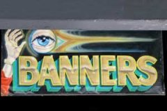 Eye-Catching Banner Brushed and Airbrushed