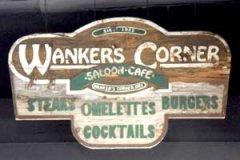 Wanker's Corner, Hand-Chiseled