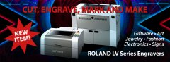ROLAND LV Series Laser Engravers